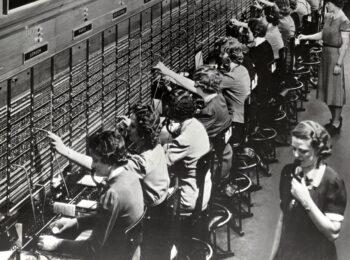 Emma M. Nutt, primera operadora de telefonía de la historia