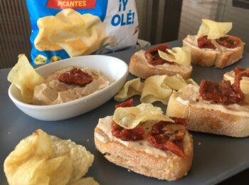 Mantequilla de anchoas y Toreras